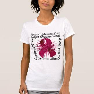 Cinta espiral de las inspiraciones del Amyloidosis Tshirts