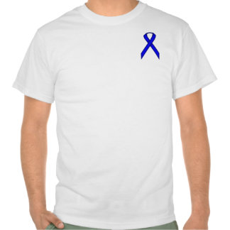 Cinta estándar azul camisetas
