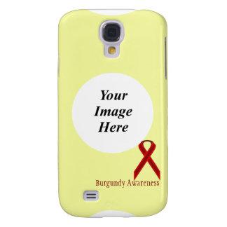 Cinta estándar de Borgoña de Kenneth Yoncich Funda Para Galaxy S4