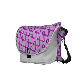 Cinta estándar púrpura bolsa de mensajeria