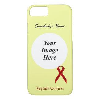 Cinta estándar Tmpl de Borgoña de Kenneth Yoncich Funda iPhone 7