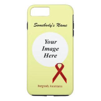 Cinta estándar Tmpl de Borgoña de Kenneth Yoncich Funda iPhone 7 Plus
