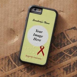Cinta estándar Tmpl de Borgoña de Kenneth Yoncich Funda Tough Xtreme iPhone 6
