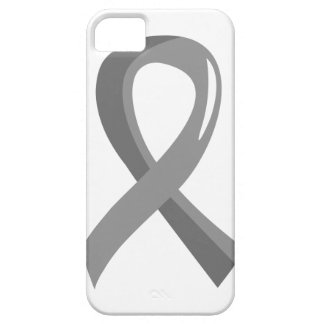 Cinta gris 3 del tumor cerebral iPhone 5 funda