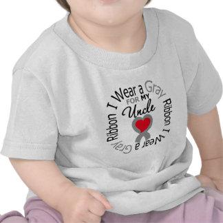 Cinta gris del desgaste de la diabetes I para mi Camiseta