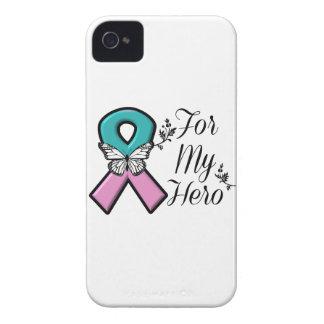 Cinta hereditaria del cáncer de pecho para mi iPhone 4 protectores