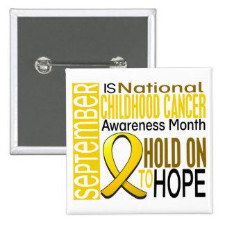 Cinta I2 1,4 del mes de la conciencia del cáncer d Pin Cuadrado