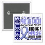 Cinta I2 1,5 del mes de la conciencia del cáncer d Pins