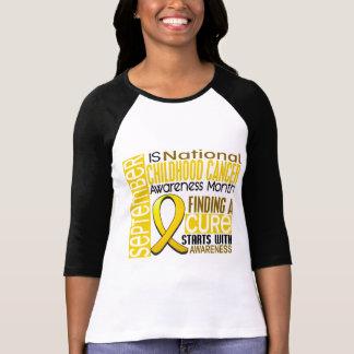 Cinta I2 1,5 del mes de la conciencia del cáncer Remera