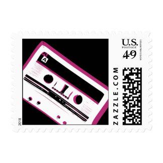 Cinta impresionante de la mezcla sello postal