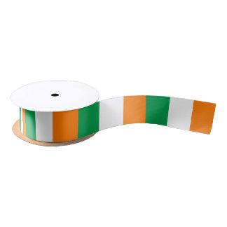 Cinta irlandesa de la bandera lazo de raso