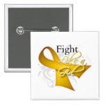 Cinta - lucha como un chica - Neuroblastoma Pin
