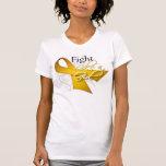 Cinta - lucha como un chica - Neuroblastoma Camisetas