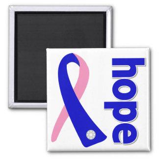 Cinta masculina de la esperanza del cáncer de pech iman