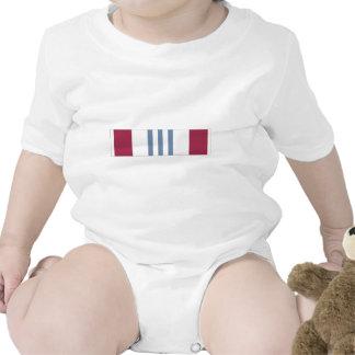 Cinta meritoria del servicio de la defensa trajes de bebé