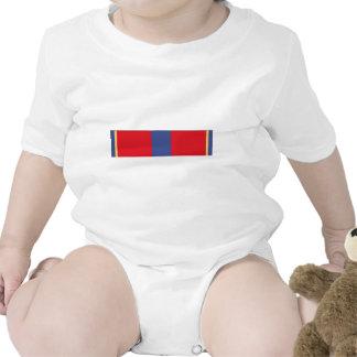 Cinta meritoria del servicio de la reserva naval trajes de bebé