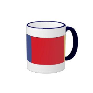 Cinta meritoria del servicio de la reserva naval taza de café