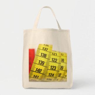 Cinta métrica bolsa tela para la compra