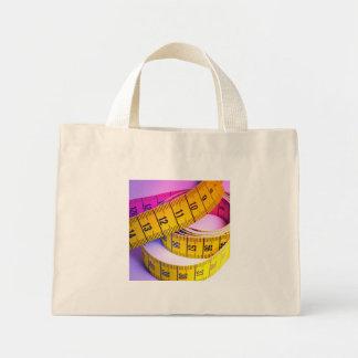 Cinta métrica colorida bolsa tela pequeña