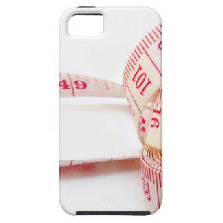 Cinta métrica de la pérdida de peso iPhone 5 Case-Mate protectores