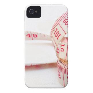 Cinta métrica de la pérdida de peso iPhone 4 Case-Mate carcasas