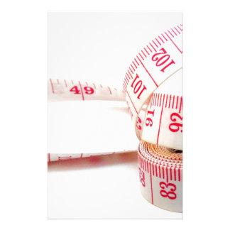 Cinta métrica de la pérdida de peso papelería personalizada