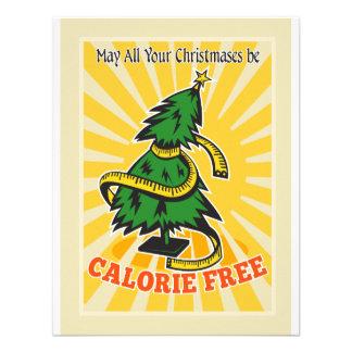 Cinta métrica libre del árbol de navidad de la cal comunicado