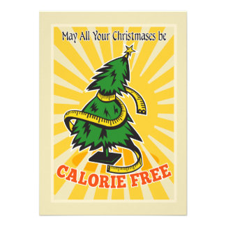 Cinta métrica libre del árbol de navidad de la cal comunicado personalizado