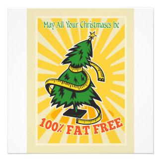 Cinta métrica sin grasa del árbol de navidad comunicados