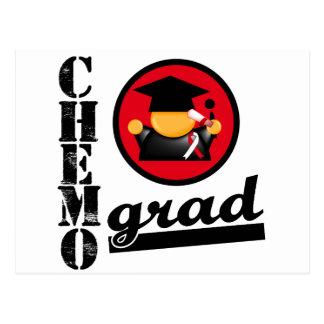 Cinta oral del cáncer del graduado de Chemo Postales