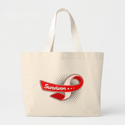 Cinta oral del superviviente del cáncer bolsas de mano