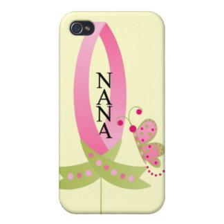 Cinta para el caso del iphone 4 de Nana iPhone 4/4S Fundas