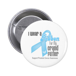 Cinta para mi abuelo - cáncer de próstata pin redondo de 2 pulgadas