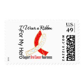 Cinta para mi héroe - cáncer oral sellos postales
