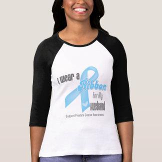 Cinta para mi marido - cáncer de próstata camisetas