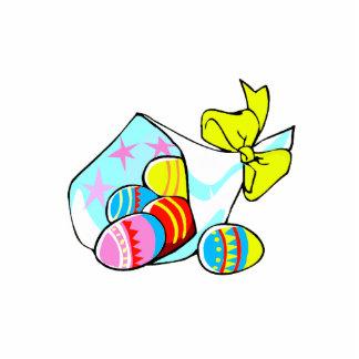 cinta pascua eggs.png del amarillo del boquet del  esculturas fotográficas