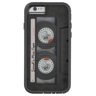 Cinta personalizada de la Mezcla-cinta/de casete Funda Tough Xtreme iPhone 6