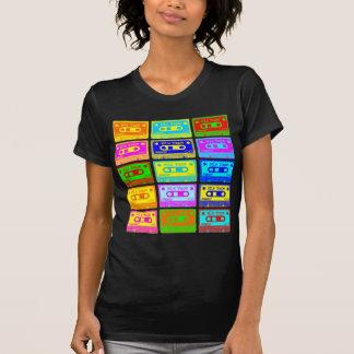 Cinta psicodélica de la mezcla camiseta