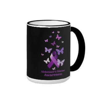 Cinta púrpura de la conciencia: Enfermedad de Taza De Dos Colores
