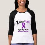 Cinta púrpura de la enfermedad de Alzheimer para Remeras