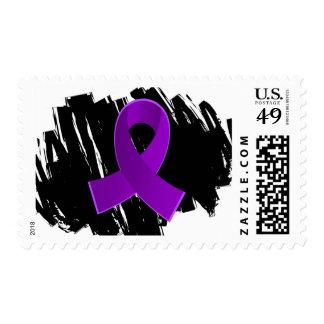 Cinta púrpura de la enfermedad de Crohn con garaba