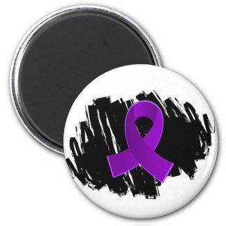 Cinta púrpura de la epilepsia con garabato imanes