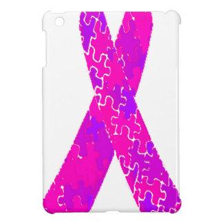Cinta púrpura del modelo del rompecabezas de las