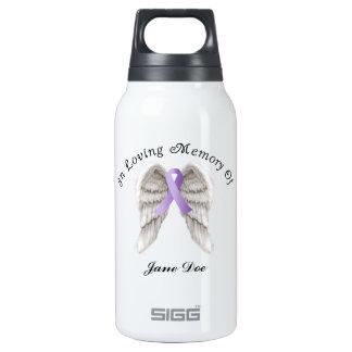Cinta púrpura todo el cáncer en memoria