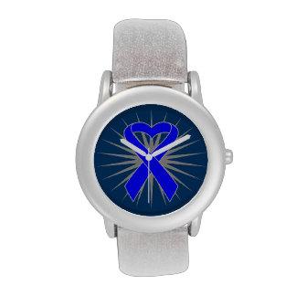 Cinta rectal del corazón relojes de pulsera