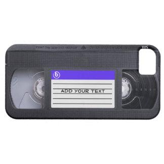 Cinta retra del vintage 80s VHS de la diversión iPhone 5 Carcasas