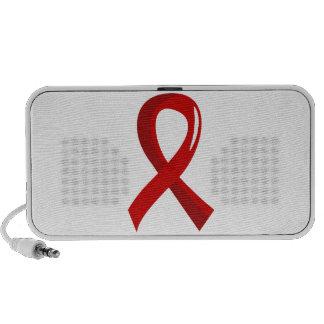 Cinta roja 3 de la enfermedad cardíaca altavoz