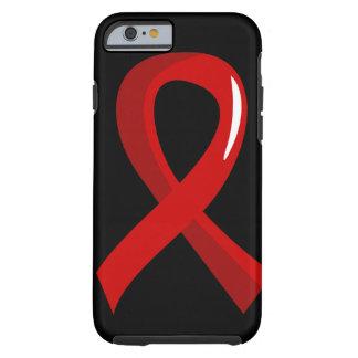 Cinta roja 3 del movimiento funda de iPhone 6 tough
