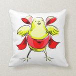 Cinta roja abstract.png del polluelo amarillo almohadas