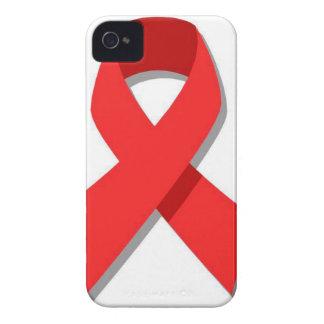Cinta roja iPhone 4 cárcasas